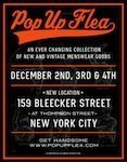 Pop Up Flea, NYC