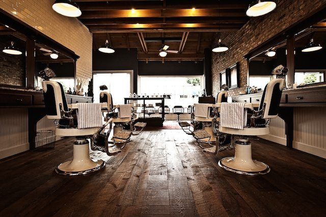 The old school barbershop george hahn for The barbershop a hair salon for men