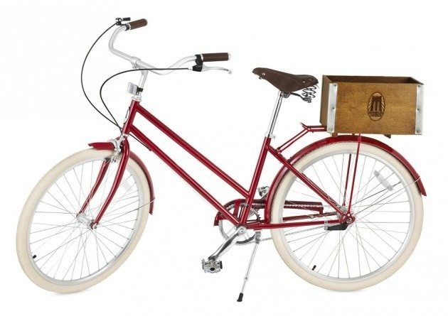 Brooklyn Cruiser + MoMA bike in red.