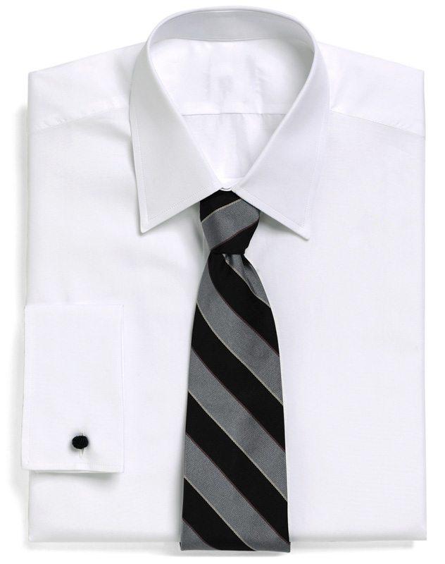 White On White Dress Shirts