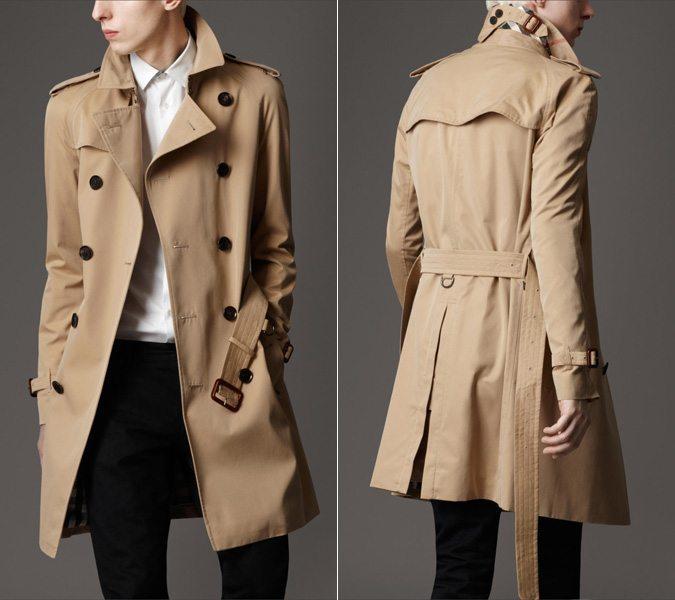 Mid Length Trench Coat