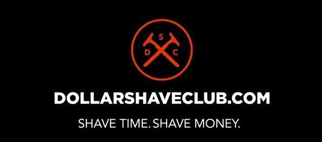 Dollar Shave Club. Shave time. Shave Money.