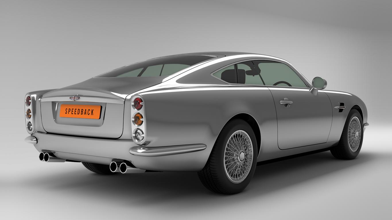 the speedback gt from david brown automotive george hahn. Black Bedroom Furniture Sets. Home Design Ideas