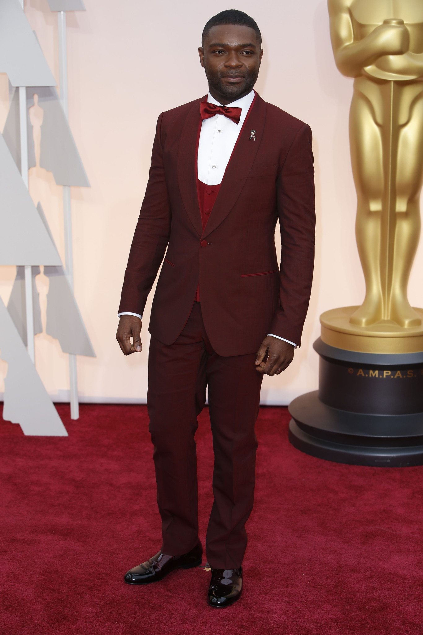 David Oyelowo in Dolce Gabbana