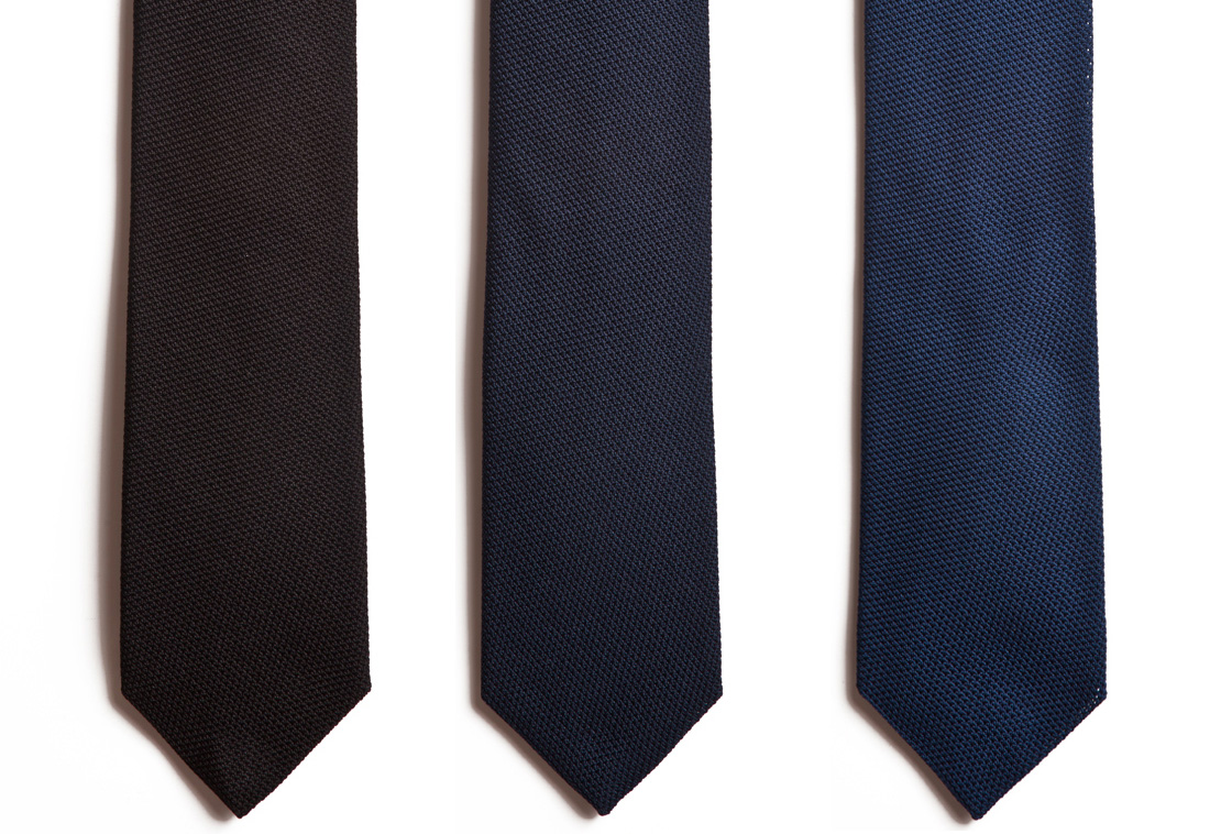The Understated Elegance of the Grenadine Tie